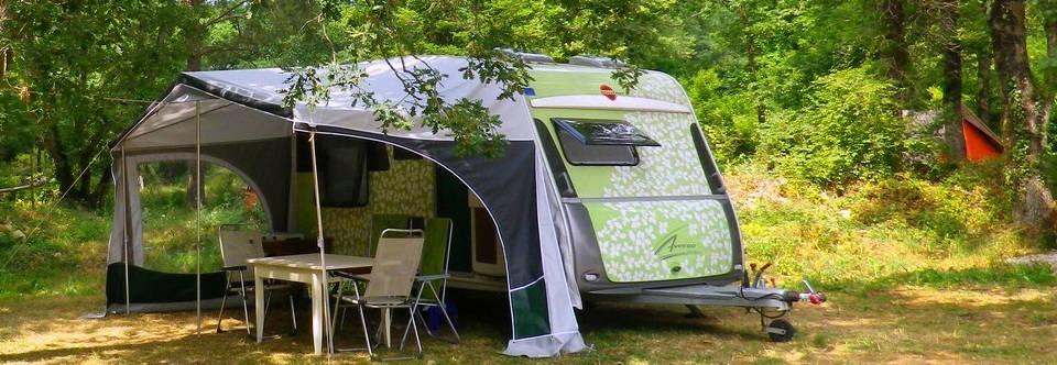 Kamperen of caravan huren op rustige camping in Zuid-Frankrijk
