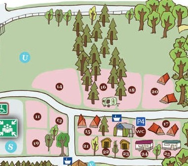 Lassaladou-plattegrond-camping-oost