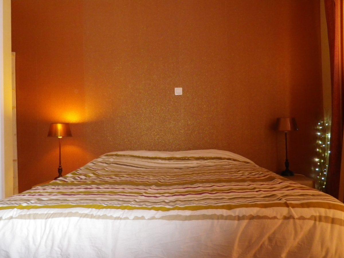 huisje-maisonette slaapkamer