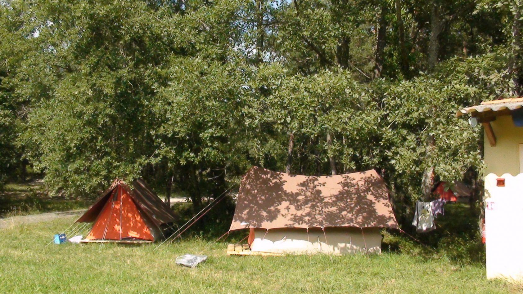 canadese tenten west weide